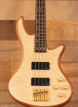 Schecter Schecter Stiletto Custom-4 Electric Bass, Natural