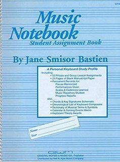 Hal Leonard Music Notebook Student Assignment Book