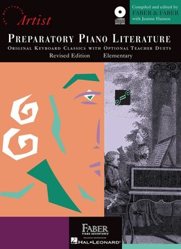 Hal Leonard Faber Preparatory Piano Literature  W/CD