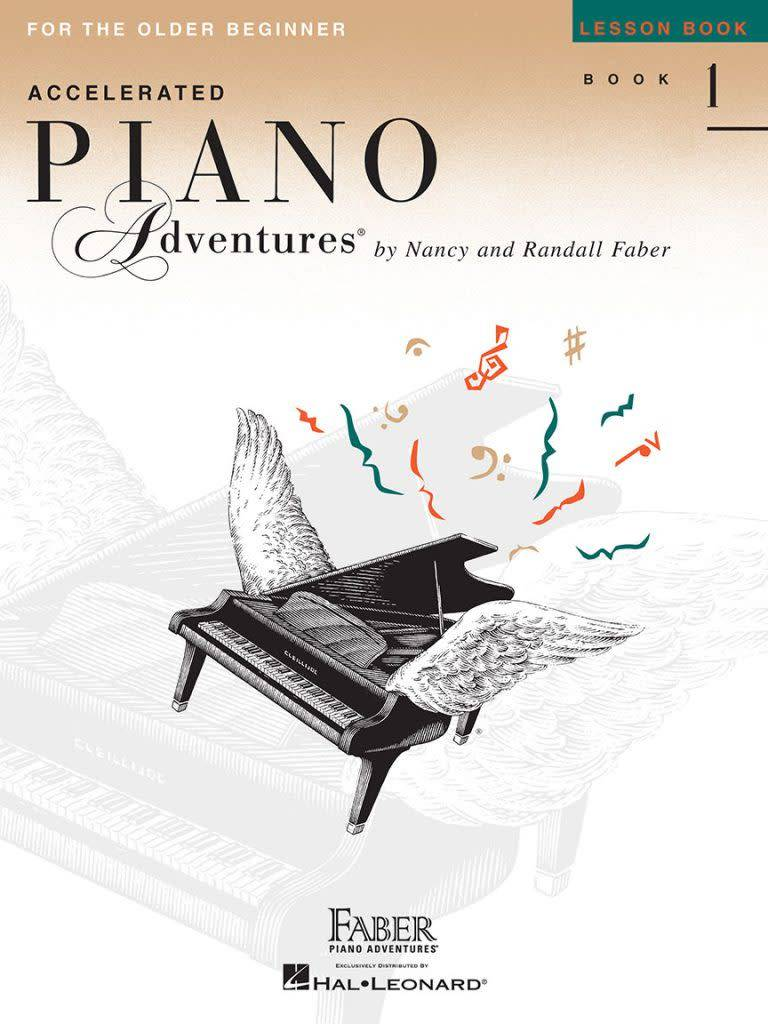 Hal Leonard Faber Accelerated Piano Adventures Lesson Book 1