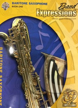 Band Expressions'e2'84'a2, Book One'3a Baritone
