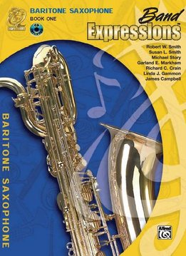 Band Expressions, Book 13a Baritone Saxophone W/CD
