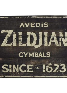Zildjian Zildjian Vintage Factory Sign