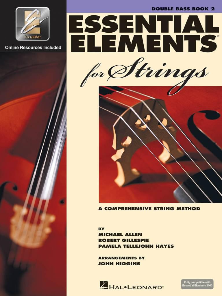 Hal Leonard Essential Elements Double Bass Book 2