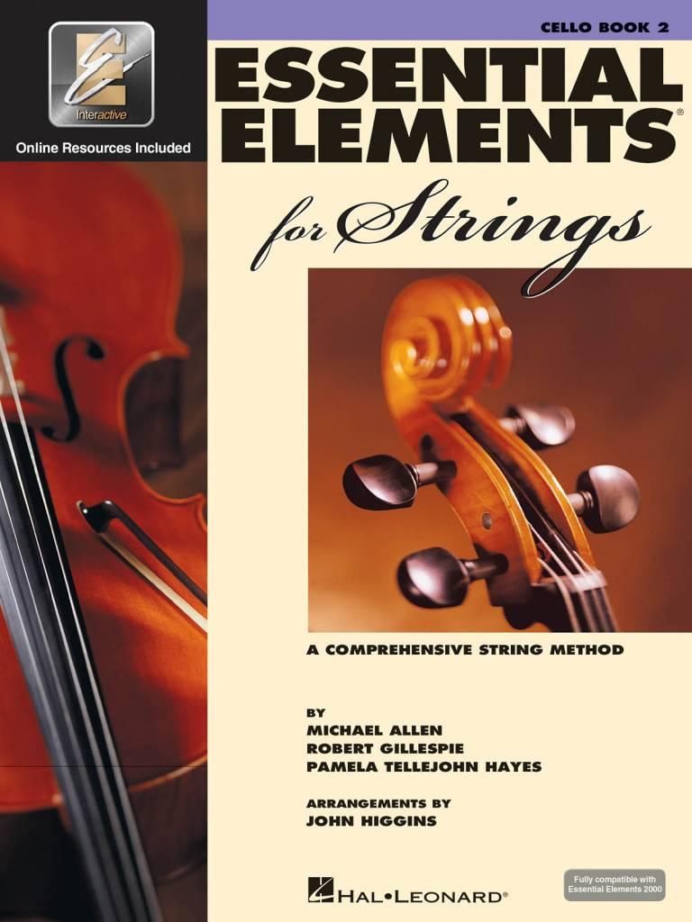 Hal Leonard Essential Elements Cello Book 2