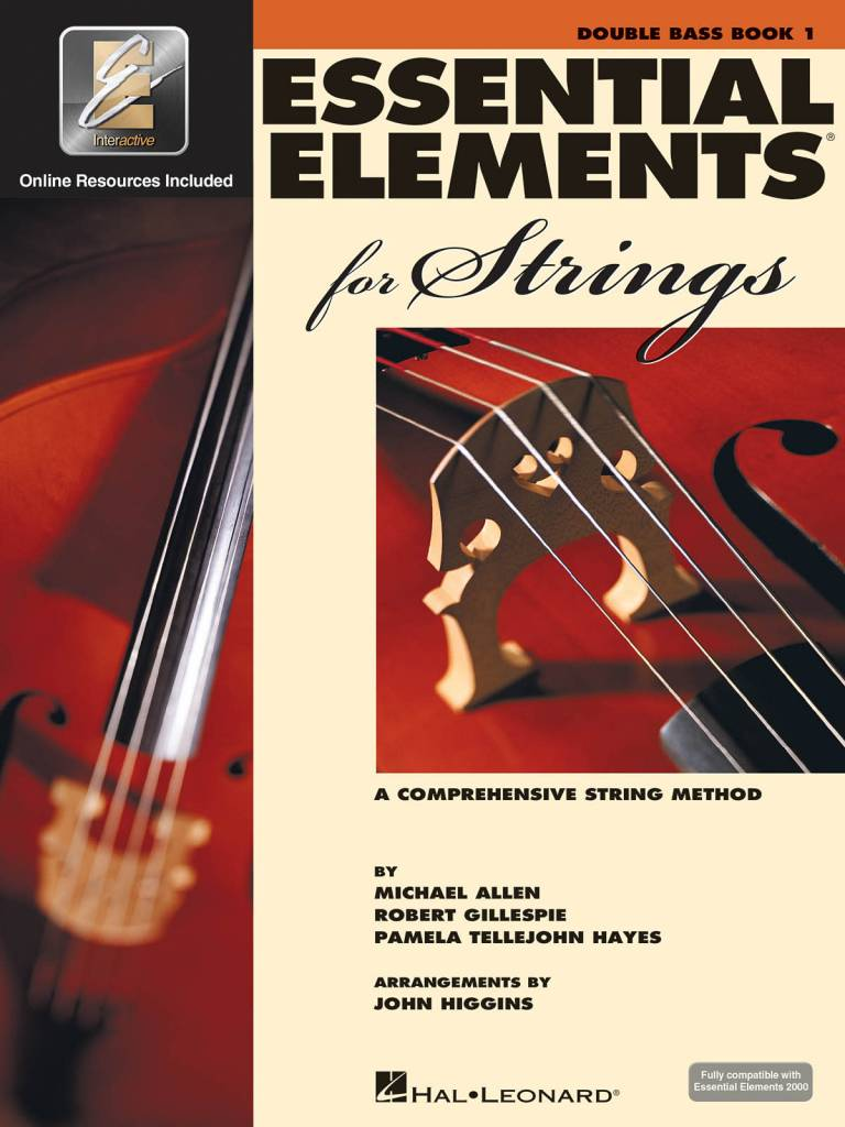 Hal Leonard Essential Elements Double Bass Book 1