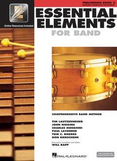 Hal Leonard Essential Elements Percussion Book 2