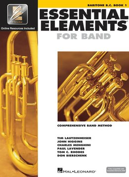 Hal Leonard Essential Elements Baritone B.C. Book 1
