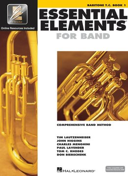 Hal Leonard Essential Elements Baritone T.C. Book 1
