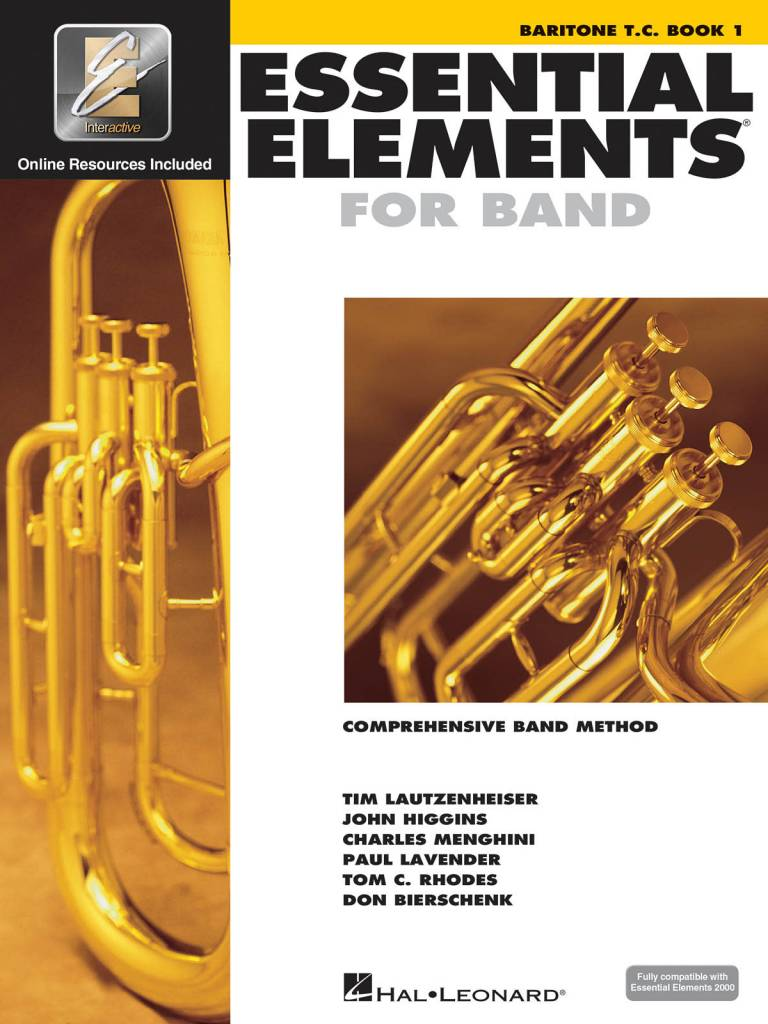 Hal Leonard Essential Elements Baritone T.C. Book 1