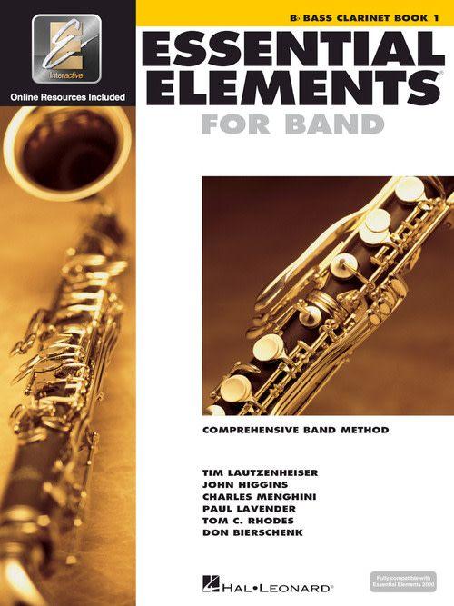 Hal Leonard Essential Elements Bb Bass Clarinet 1