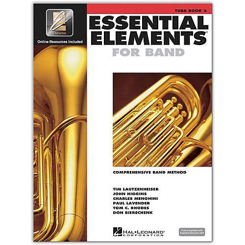Hal Leonard Essential Elements Tuba Book 2