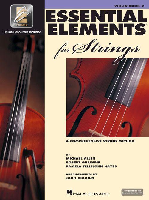 Hal Leonard Essential Elements Violin Book 2