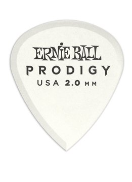 Ernie Ball Ernie Ball 2.0mm White Mini Prodigy Picks 6-Pack