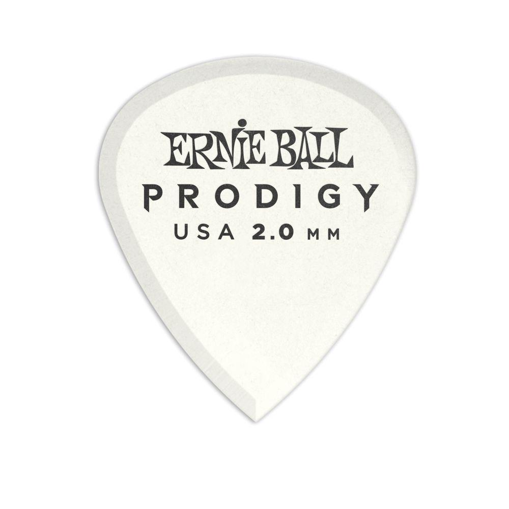 Ernie Ball Ernie Ball 2.0mm White Mini Prodigy Picks 6-Pack