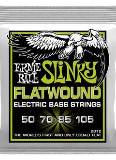 Ernie Ball Ernie Ball Regular Slinky Flatwound Electric Bass Strings - 50-105 Gauge
