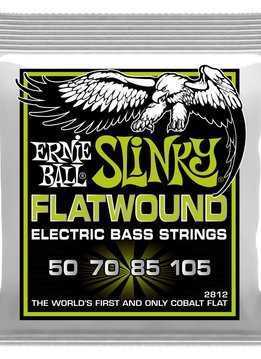 Ernie Ball Ernie Ball Regular Slinky Flatwound Electric Bass Strings - 50-105 Gauge