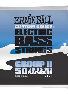Ernie Ball Ernie Ball Flatwound Group II Electric Bass Strings - 50-105 Gauge