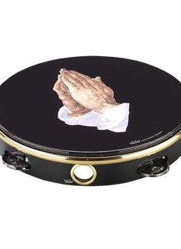 "Remo Remo 8"" Single Row Tambourine, Praying Hands"