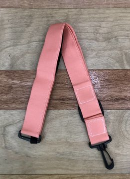 The Hug Strap The Hug Strap for Ukulele - Coral Pink Canvas