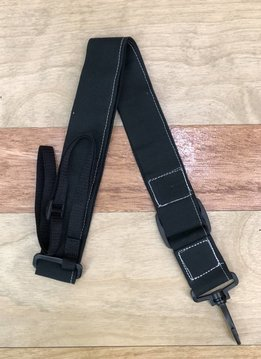 The Hug Strap The Hug Strap for Ukulele - Black Canvas