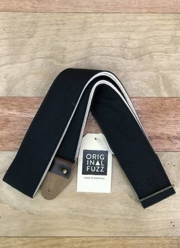Fuzz Original Fuzz Canvas Guitar Strap, Black