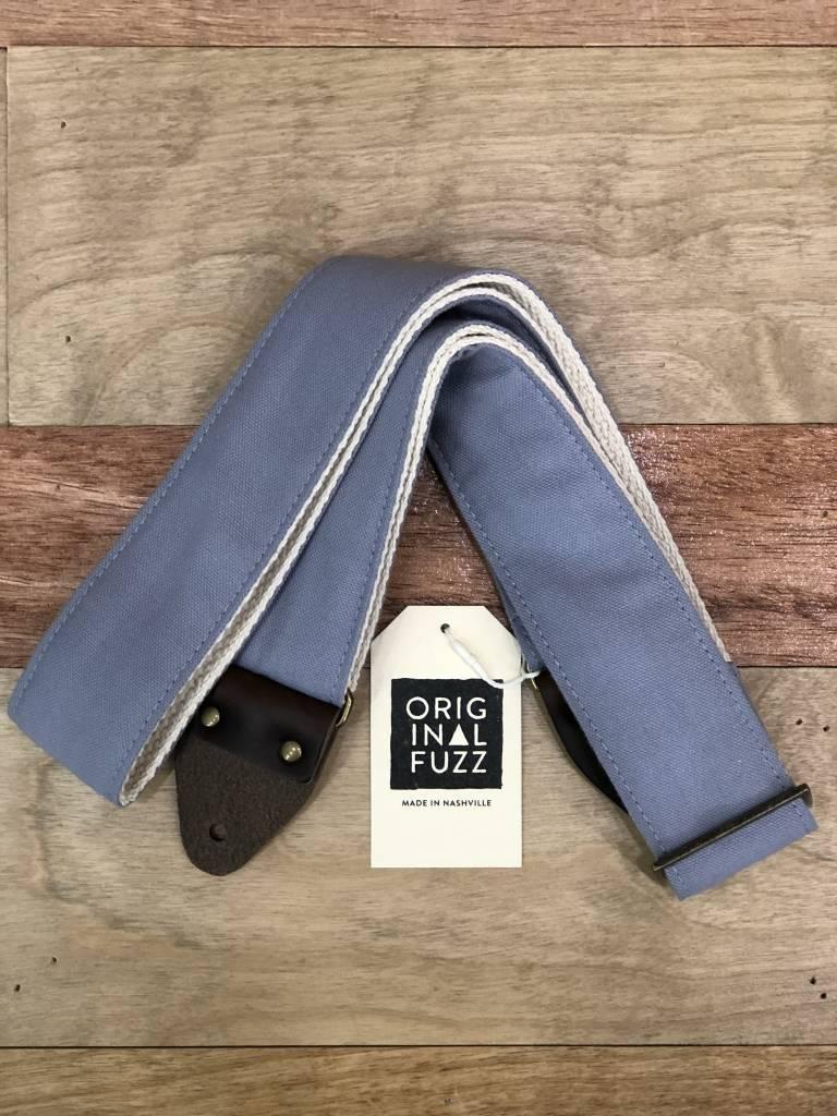 Fuzz Original Fuzz Canvas Guitar Strap, Gray