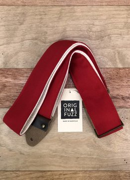 Fuzz Original Fuzz Canvas Guitar Strap, Red