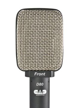 CAD CAD D80 Moving Coil Dynamic Super Cardioid Microphone