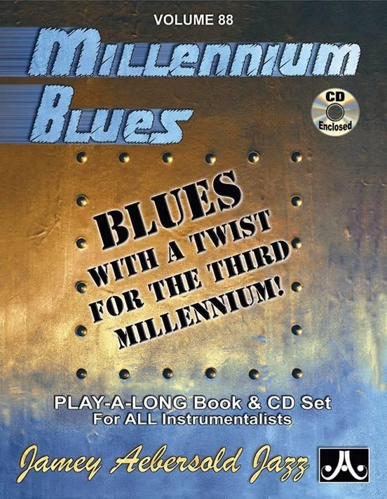 Jamey Aebersold Jazz, Volume 88: Millennium Blues Book & CD