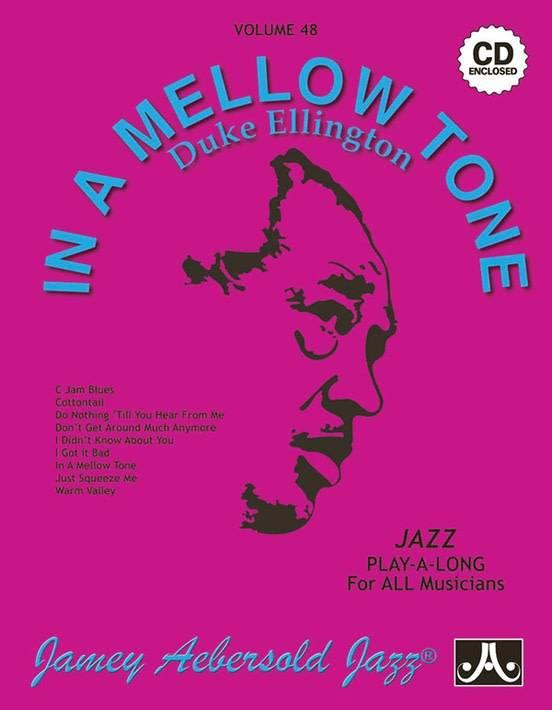 Jamey Aebersold Jazz, Volume 48: In a Mellow Tone- Duke Ellington Book & CD