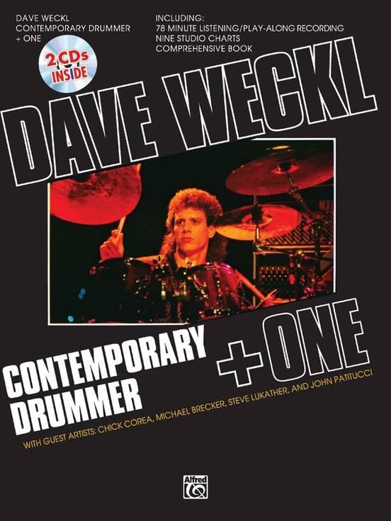 Dave Weckl3a Contemporary Drummer   One Book 26 2 CDs