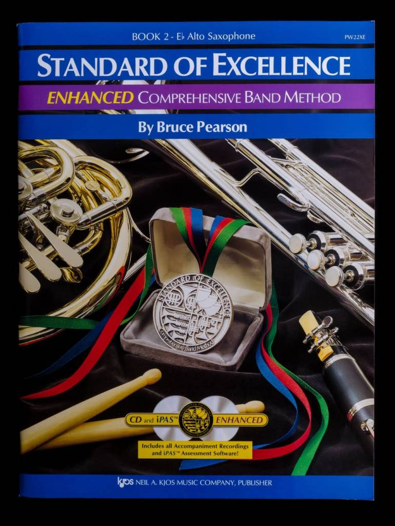 Kjos Standard of Excellence 2 Enhanced Alto Sax