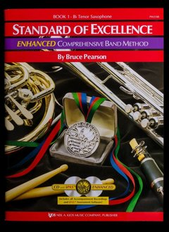 Kjos Standard of Excellence 1 Enhanced Tenor Sax