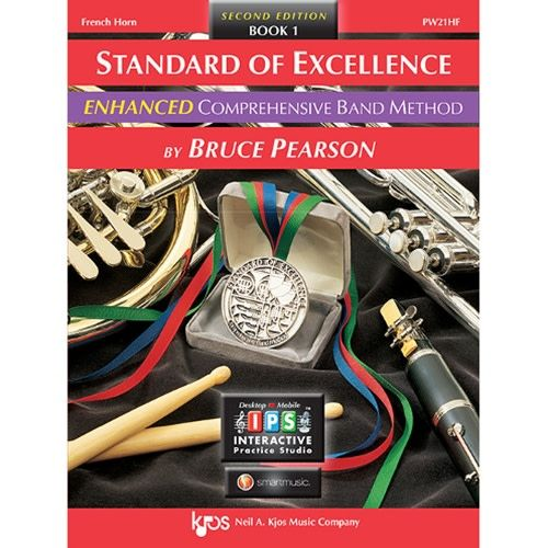 Kjos Standard of Excellence 1 Enhanced French Horn