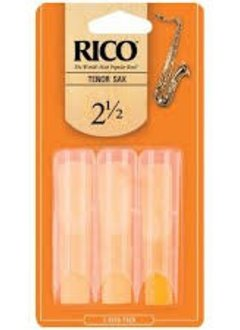 Rico Rico by D'Addario Tenor Sax Reeds 2.5, 3-pack