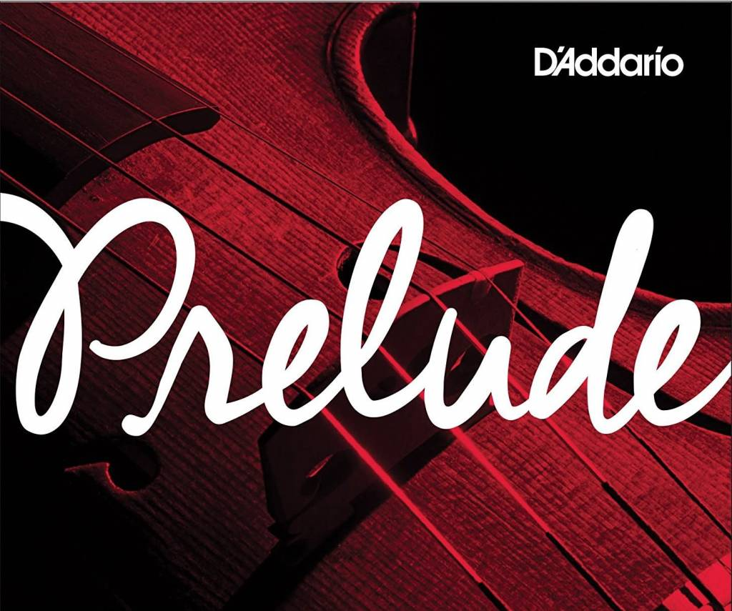 D'Addario Prelude Viola String Set, Short Scale, Medium Tension