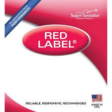 Super-Sensitive Red Label Single G 4/4 Cello String