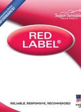 Super-Sensitive Red Label Single D 4/4 Cello String