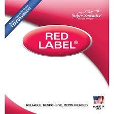 Super-Sensitive Red Label Single D 4/4 Cello String