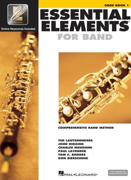 Hal Leonard Essential Elements Oboe Book 1