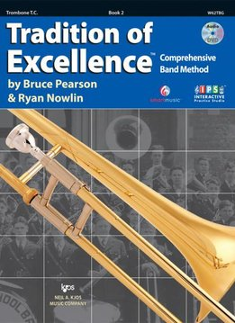 Kjos Tradition of Excellence Trombone Book 2