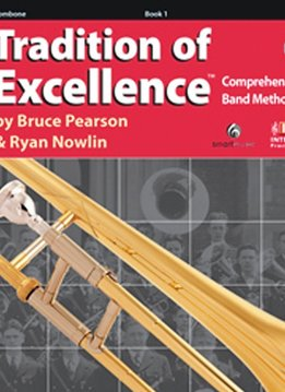 Kjos Tradition of Excellence Trombone Book 1