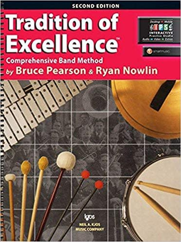 Kjos Tradition of Excellence Percussion Book 1