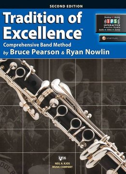 Kjos Tradition of Excellence Clarinet Book 2