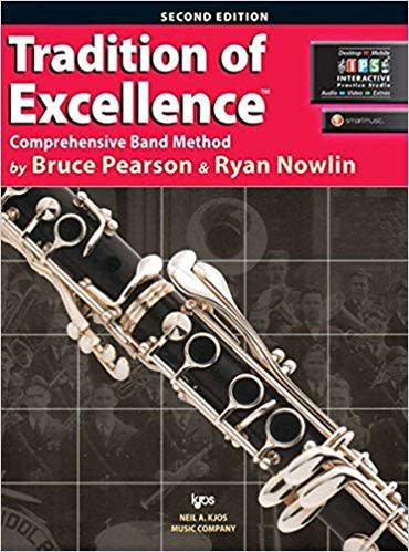 Kjos Tradition of Excellence Clarinet Book 1