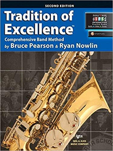 Kjos Tradition of Excellence Alto Sax Book 2