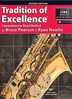 Kjos Tradition of Excellence Alto Sax Book 1
