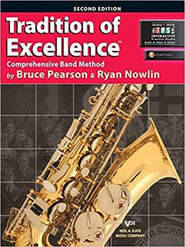 Kjos Tradition of Excellence Alto Sax Book 1