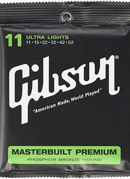 Gibson Gibson Masterbuilt Premium Phosphor Bronze 11-52